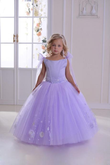 Baby Girl Birthday Party Christmas Princess Dresses Children Girl Party Dresses